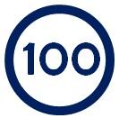 Tempo 100 icon
