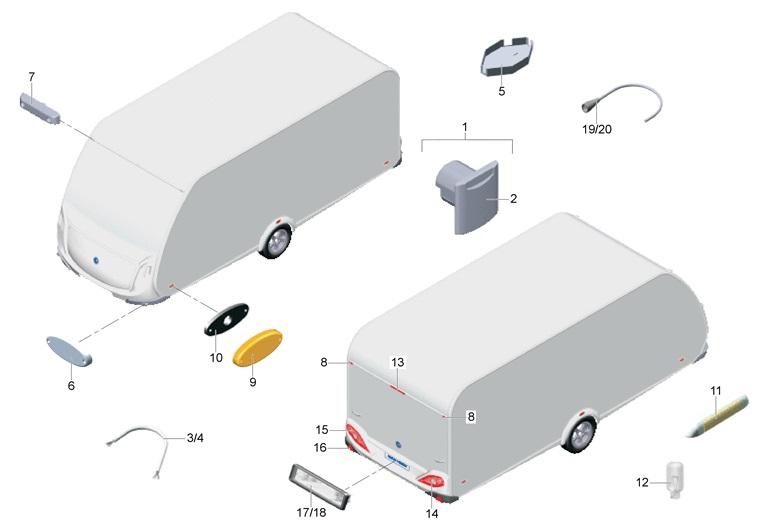 onderdelen caravans