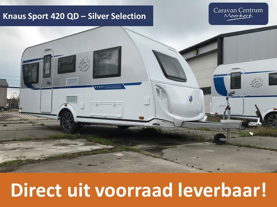 Foto van Knaus Sport Silver Selection 420 QD DIRECT LEVERBAAR